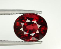 3.50 Ct Natural Orange Red Spessartite Gemstone