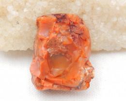 119.5cts Side Drilled Fire Opal Gemstone Pendant Bead Fire, Rare Australian