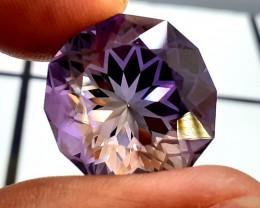 Amethyst, 28.55 Cts Natural Top Color & Cut Amethyst Gemstones