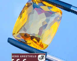 7.00CT  HELIODOR BERYL GOLD COLOR
