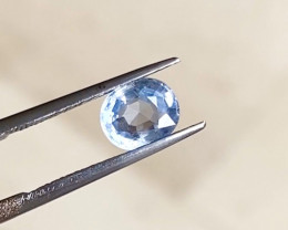 1.58ct Unheated blue sapphire