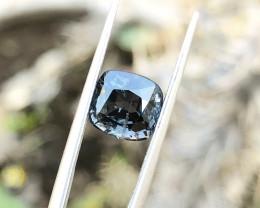 2.55 Ct Natura Dark Blue Transparent Burmas Spinal Gemstone