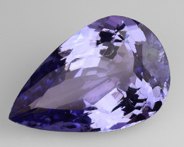 2.61 Cts Tanzanite Faceted Gemstone Gorgeous Cut ~ TN59