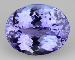 3.57 Cts Tanzanite Faceted Gemstone Gorgeous Cut ~ TN64