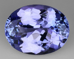 3.06 Cts Tanzanite Faceted Gemstone Gorgeous Cut ~ TN69