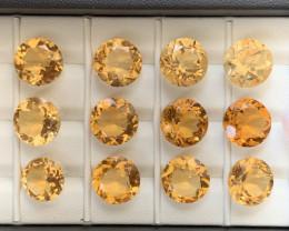 80.90 Carats Citrine  Gemstones Parcel