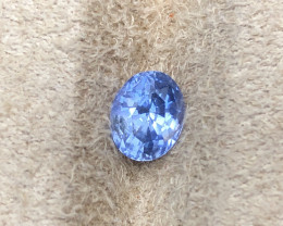 1.30 ct sapphire certified unheated.