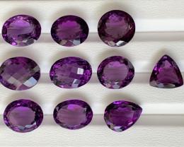 91.50 Carats Amethyst  Gemstones Parcel