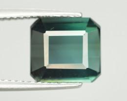 3.65 Carat Natural Green Blue Tourmaline Gemstone SKU 8