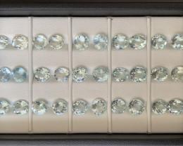 44.40 ct Aquamarine Gemstones Parcel