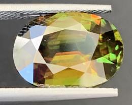 8 Carats Natural Full Fire Tantanite Sphene Gemstone