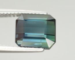 3.35 Carat Natural Green Blue Tourmaline Gemstone