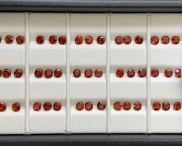 11.35 Carats Mandarin  Garnet  Gemstones Parcel