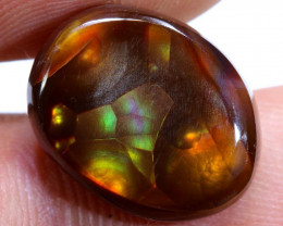 9 cts Mexican Fire Agate Stone Polished D-87