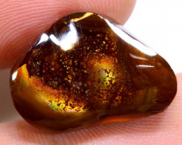 Mexican Fire Agate Stone Polished 16cts D-89