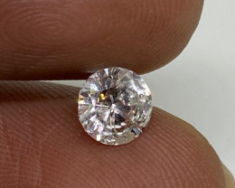 (6) Cert $1617 Fiery 0.71cts SI2 White Loose Round Diamond Natural