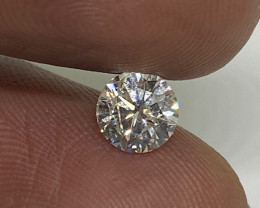 (4) Cert $1221 Fiery 0.71cts SI2 White Loose Diamond Round  Natura