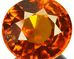 2.50 Cts Natural Hessonite Garnet Cinnamon Orange Oval Sri Lanka