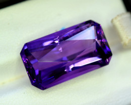 Amethyst, 15.45 Cts Natural Top Color & Cut Amethyst Gemstones
