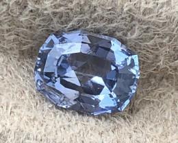 Fancy cut light blue certified unheated.   Very lustrous stone.