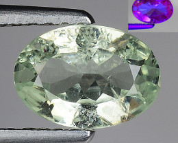 AIG CERT ALEXANDRITE RARE COLOR CHANGE GEMSTONE