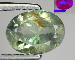 1.19 CT AIG CERT ALEXANDRITE RARE COLOR CHANGE GEMSTONE