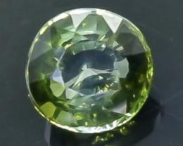 1.17 Crt Natural  Tourmaline Faceted Gemstone.( AB 70)