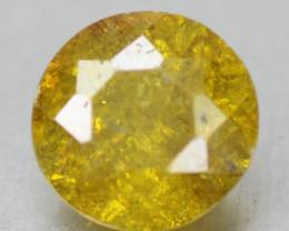 0.48 Cts Rare Fancy Vivid Yellow Sphalerite Natural Loose Gemstone