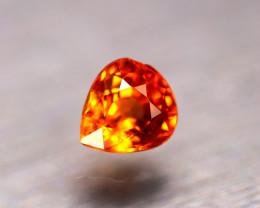 Garnet 1.13Ct Natural Vivid Orange Spessartite Garnet E0116/B34