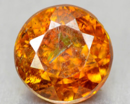 0.46 Cts Rare Fancy Orange Sphalerite  Natural Loose Gemstone