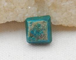 9.5cts Beautiful Blue Opal Raw Cabochon, October Birthstone, Blue Opal Bead