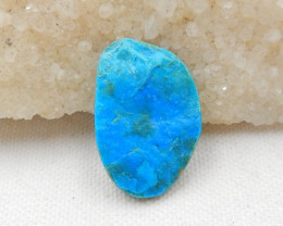 18.5cts Beautiful Blue Opal Raw Cabochon, October Birthstone, Blue Opal Bea