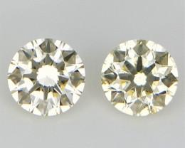 2 pcs/0.15 cts , Small Diamonds , Diamonds , WR1334