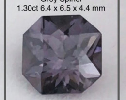 Pretty 1.30 CT Grey Spinel - Burma Ref 2276