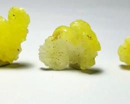 Amazing Natural color Damage free 3 Brucite crystal 58Cts-Pak