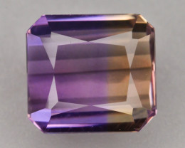 Top Grade 5.20 ct Natural Bi Color Bolivian Ametrine T