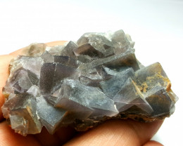 Amazing Natural color Damage free Lovely Fluorite specimen 172Cts-P