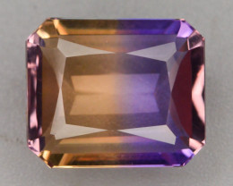 Top Grade 4.70 ct Natural Bi Color Bolivian Ametrine T