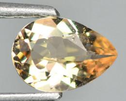 0.68 Cts Amazing Rare Natural Pink Color Morganite Gemstone