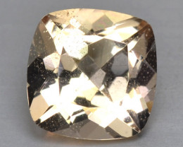 1.22 Cts Amazing Rare Natural Pink Color Morganite Gemstone