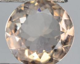 0.60 Cts Amazing Rare Natural Pink Color Morganite Gemstone