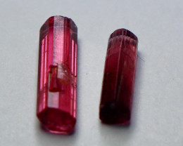 3 Cts Unheated ~ Natural Pink Tourmaline Crystal Rough
