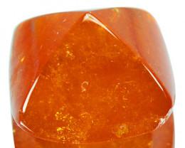 13.53Cts Natural Spessartite Garnet Sugarloaf Fanta Orange Namibia