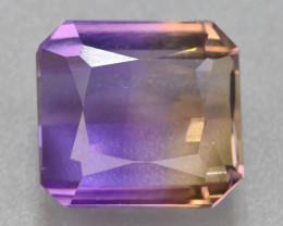 Top Grade5.05 ct Natural Bi Color Bolivian Ametrine T