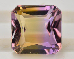 Top Grade5.00 ct Natural Bi Color Bolivian Ametrine T