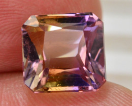 Top Grade5.00 ct Natural Bi Color Bolivian Ametrine T