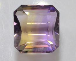 Top Grade5.25 ct Natural Bi Color Bolivian Ametrine T