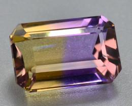 Top Grade4.60 ct Natural Bi Color Bolivian Ametrine T