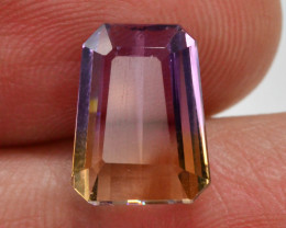 Top Grade5.15 ct Natural Bi Color Bolivian Ametrine T
