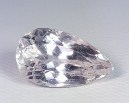 4.59 ct  Top Quality Gem Lovely Pear Cut Natural Kunzite